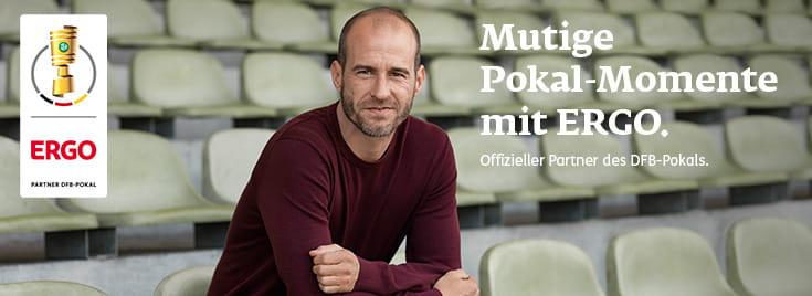 ERGO - Offizieller Partner des DFB-Pokals