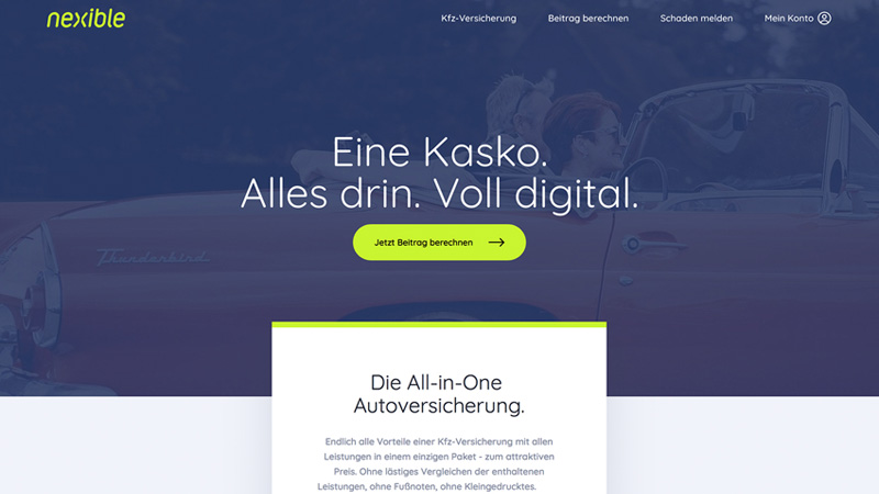 nexible All-in-One Autoversicherung