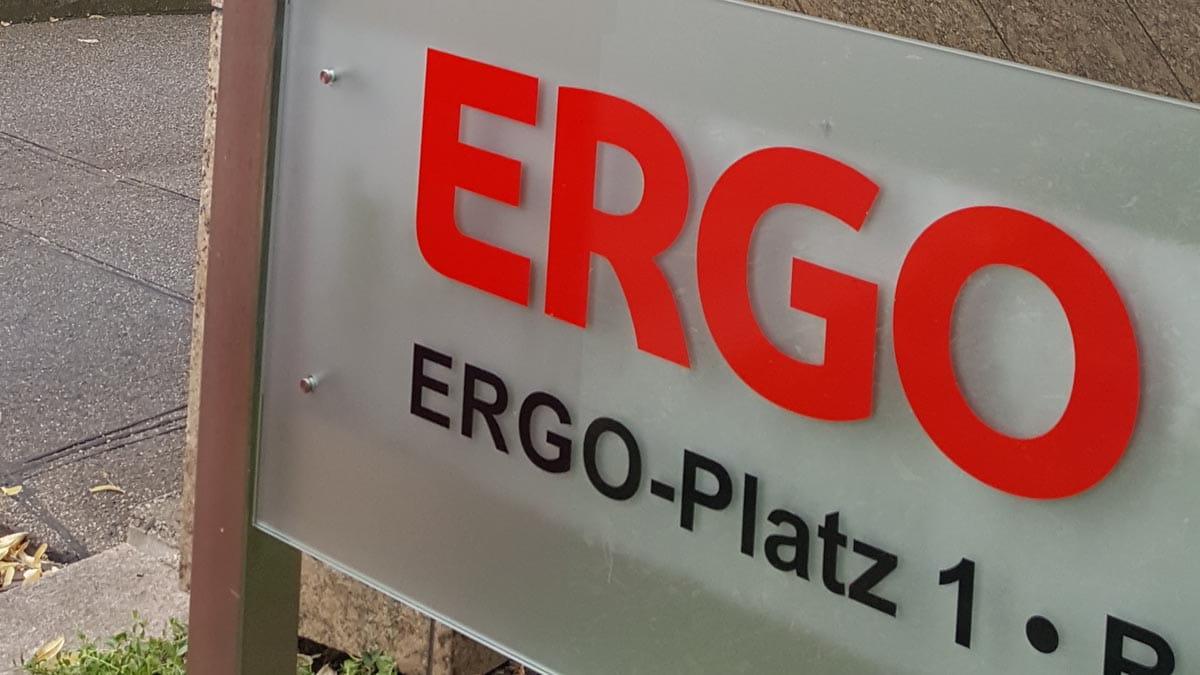 Victoriaplatz Heisst Jetzt Ergo Platz Ergo Group Ag
